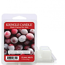 Parfüm, Parfüméria, kozmetikum Aromawax - Kringle Candle Frosted Cranberry Wax Melt