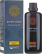 Parfüm, Parfüméria, kozmetikum Mosakodó olaj - Wooden Spoon Super Seeds Enchanting Neroli Cleansing Oil