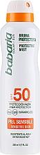 Parfüm, Parfüméria, kozmetikum Napvédő spray testre - Babaria Protective Mist For Sensitive Skin Spf50