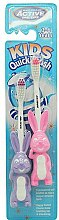 Parfüm, Parfüméria, kozmetikum Gyermek fogkefe, 3-6 éves korig, lila+rózsaszín - Beauty Formulas Active Oral Care