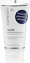 Parfüm, Parfüméria, kozmetikum Olíva peeling arcra - Naturativ Olive Exfolianting Face Scrub