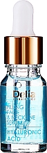 Parfüm, Parfüméria, kozmetikum Intenzív ránctalanító arc és nyakszérum hialuronnal - Delia Face Care Hyaluronic Acid Face Neckline Intensive Serum