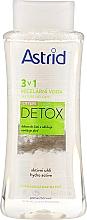 Parfüm, Parfüméria, kozmetikum Micellás víz normál és zsíros bőrre - Astrid CityLife Detox 3v1