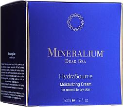 Parfüm, Parfüméria, kozmetikum Hidratáló krém normál és száraz bőrre - Mineralium Dead Sea HydraSource Moisturizing Cream For Normal To Dry Skin