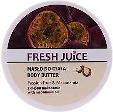 """Parfüm, Parfüméria, kozmetikum Krém-olaj testre """"Maracuja és makadámia"""" - Fresh Juice Passion Fruit & Macadamia"""