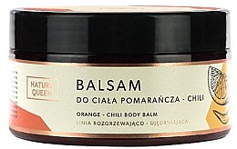 "Parfüm, Parfüméria, kozmetikum Testbalzsam ""Narancs és chilli"" - Nature Queen Body Balm"