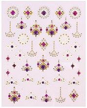 Parfüm, Parfüméria, kozmetikum Körömdíszítő matrica - Peggy Sage Decorative Nail Stickers Luxury (1db)