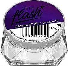 Parfüm, Parfüméria, kozmetikum Körömdíszítő púder - Semilac SemiFlash Mirror