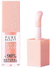 Parfüm, Parfüméria, kozmetikum Olaj ajakra - Astra Pure Beauty Juicy Lip Oil