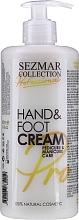Parfüm, Parfüméria, kozmetikum Tápláló krém kézre és lábra - Sezmar Collection Professional Hand & Foot Cream