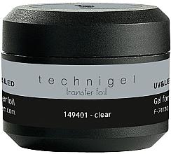 Parfüm, Parfüméria, kozmetikum Transzferfólia zselé - Peggy Sage Technigel Transfer Foil Gel (Clear)