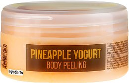 "Parfüm, Parfüméria, kozmetikum Testradír ""Ananász joghurt"" - Hristina Stani Chef's Pineapple Yogurt Body Peeling"