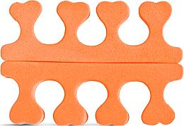 Parfüm, Parfüméria, kozmetikum Lábujjelválasztó szivacs, 2562, narancssárga - Donegal