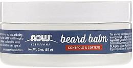 Parfüm, Parfüméria, kozmetikum Szakál balzsam - Now Foods Controls & Softens Beard Balm