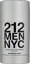 Parfüm, Parfüméria, kozmetikum Carolina Herrera 212 For Man NYC - Deo stift