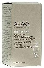 Parfüm, Parfüméria, kozmetikum Férfi fiataliító és hidratáló krém SPF15 - Ahava Age Control Moisturizing Cream SPF15