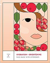Parfüm, Parfüméria, kozmetikum Hidratáló világosító arcmaszk - You & Oil Hydration & Brightening Face Mask With Liposomes