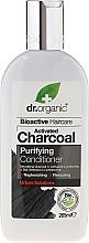 Parfüm, Parfüméria, kozmetikum Kondicionáló aktív szénnel - Dr. Organic Bioactive Haircare Activated Charcoal Conditioner