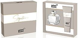 Parfüm, Parfüméria, kozmetikum Montblanc Signature - Szett (edp/50ml + b/lot/100ml)