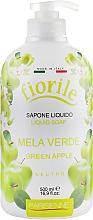 "Parfüm, Parfüméria, kozmetikum Folyékony szappan ""Zöld alma"" - Parisienne Italia Fiorile Green Apple Liquid Soap"