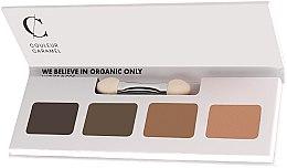 Parfüm, Parfüméria, kozmetikum Szemhéjfesték paletta - Couleur Caramel Bio Sublime Eye Palette