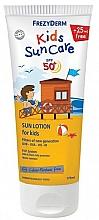 Parfüm, Parfüméria, kozmetikum Napvédő arc és testlotion gyermekeknek - Frezyderm Kids Suncare Lotion SPF50+