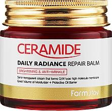 Parfüm, Parfüméria, kozmetikum Erősítő krém-balzsam arcra ceramidokkal - FarmStay Ceramide Daily Radiance Repair Balm