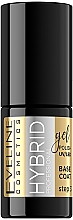 Parfüm, Parfüméria, kozmetikum Hybrid fedő körömlakk - Eveline Cosmetics Hybrid Professional Base Coat