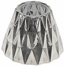 Parfüm, Parfüméria, kozmetikum Korona közepes gyertyára - WoodWick Geometric Silver Shade