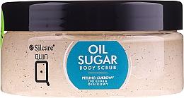 Parfüm, Parfüméria, kozmetikum Olajos cukorradír testre - Silcare Quin Sugar Body Peel Oil