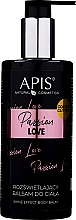 Parfüm, Parfüméria, kozmetikum Világosító testápoló balzsam - APIS Professional Passion Love Body Balm