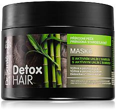"""Parfüm, Parfüméria, kozmetikum Hajmaszk """"Bambusz szén"""" - Dr. Sante Detox Hair Mask"""