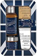 Parfüm, Parfüméria, kozmetikum Készlet - Baylis & Harding Fuzzy Duck Men's Ginger & Lime (b/wax/50g + soap/25g + b/sh/100ml + balm/30ml)