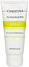 Parfüm, Parfüméria, kozmetikum Alma arcmaszk zsíros és kombinált bőrre - Christina Sea Herbal Beauty Mask Green Apple