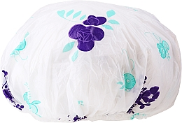 Parfüm, Parfüméria, kozmetikum Zuhanysapka, 9298, fehér-lila - Donegal Shower Cap