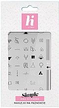 Parfüm, Parfüméria, kozmetikum Körömmatrica - Hi Hybrid Simple Nail Stickers