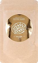 Parfüm, Parfüméria, kozmetikum Kávés testradír - BodyBoom Coffe Scrub Shimmer Gold
