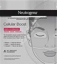 Parfüm, Parfüméria, kozmetikum Higrogél arcmaszk - Neutrogena Cellular Boost 100% Hydrogel Mask