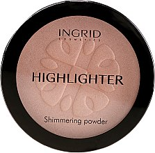 Parfüm, Parfüméria, kozmetikum Kompakt púder - Ingrid Cosmetics HD Beauty Innovation Shimmer Powder