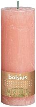 Parfüm, Parfüméria, kozmetikum Henger alakú gyertya, rózsaszín, 190/68 mm - Bolsius