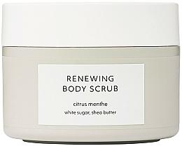 Parfüm, Parfüméria, kozmetikum Megújító testradír - Estelle & Thild Citrus Menthe Renewing Body Scrub