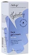 Parfüm, Parfüméria, kozmetikum Intenzív hidratáló gél-krém száraz bőrre - Kili-g Hydrating Face Gel Cream