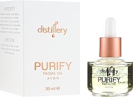 Parfüm, Parfüméria, kozmetikum Regeneráló arcolaj - Avon Distillery Purify Facical Oil