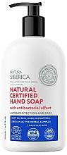 "Parfüm, Parfüméria, kozmetikum Antibakteriális szappan ""Ultraprotection and care"" - Natura Siberica Natural Certified Hand Soap"