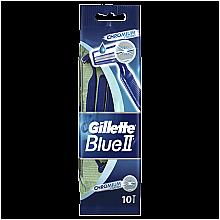 Parfüm, Parfüméria, kozmetikum Eldobható borotva, 10db - Gillette Blue II Chromium