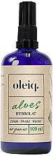 Parfüm, Parfüméria, kozmetikum Aloe vera hidrolát arcra, testre és hajra - Oleiq Hydrolat Aloe