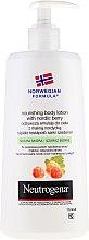 Parfüm, Parfüméria, kozmetikum Testápoló - Neutrogena Nourishing Body Lotion With Nordic Berry Normal To Dry Skin