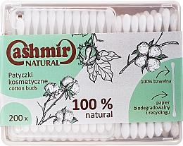 Parfüm, Parfüméria, kozmetikum Kozmetikai pálcikák, 200db - Cashmir Natural Cotton Buds (dobozban)