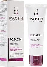 Parfüm, Parfüméria, kozmetikum Nyugtató nappali krém vörösödés ellen - Iwostin Rosacin Soothing Day Cream Against Redness SPF 15