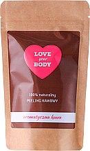 """Parfüm, Parfüméria, kozmetikum Testradír """"Illatos kávé"""" - Love Your Body Peeling"""